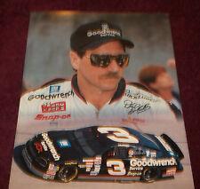 "DALE EARNHARDT # 3  8"" X10"" NASCAR  PHOTO #3"