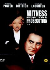 Witness for the Prosecution (1957, Billy Wilder) Dvd New