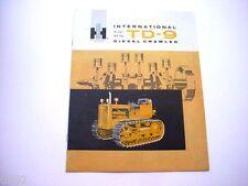 International TD-9 Crawler Dozer Sales Brochure *