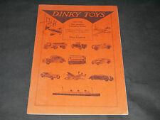MECCANO MAGAZINE DIGEST OF DINKY TOYS ET SUPERTOYS 1941-1950
