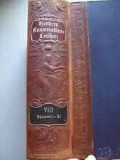 Herders Konversations-Lexikon 3.Auflage 1902 Herder Konversationslexikon Lexikon
