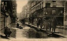 CPA PARIS La rue Bellechasse INONDATIONS 1910 (606122)