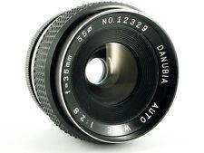 DANUBIA Weitwinkel Objektiv Lens 2.8/35 M42 Canon EOS