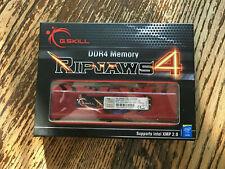 G.Skill Ripjaws Series 32 GB (4 x 8 GB) DDR4-2400 CL15 Memory 288-pin DIMM