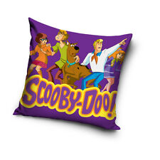 NEW LICENSED SCOOBY-DOO! THE TEAM cushion cover 40x40cm 100% COTTON