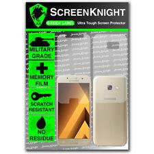 Screenknight Samsung Galaxy A3 (2017) Cuerpo Completo Y Militar Escudo protector de pantalla