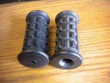 NOS Kawasaki F5 F6 F7 F8 F9 H1 KH500 S2 Rear Footrest Rubber Pair Set