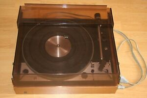 Platine Vinyle DUAL 1229 Vintage avec Capot (no marantz,lenco,thorens)