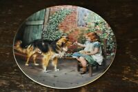 "WEDGWOOD Collectors Plate Victorian Childhood Days ""Turn About Fair Play"""