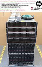 HP MSA2040 10Gbit 67.2TB SSD/SAS SAN BLc7000 G3 16x BL460c Gen8 256-Core 2TB RAM