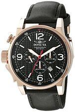 Orologi da polso da uomo con cinturino in pelle con cronografo