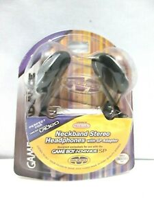 NEW GAMEBOY ADVANCE NECKBAND STEREO HEADSET WITH SP ADAPTER