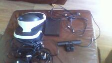 playstation 4 virtual reality headset with camera hardly used this