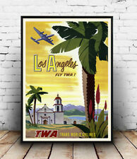 Los Angeles : advertising Poster reproduction