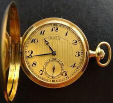 A.LANGE & SÖHNE OLIW GLASHÜTTE GELB GOLD 14K 585 ANTIKE SAMMLER TASCHENUHR 1928