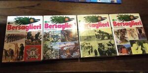 ENCICLOPEDIA-BERSAGLIERI. Vol. 1-2-3-4. AA.VV. Compagnia Generale Editoriale.