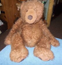 "LARGE RUSS BERRIE TEDDY BEAR TIMBER 16"" PLUSH SOFT STUFFED TOY FREE UK P&P"