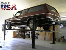 USA Made 4-post storage parking car lift STDA-7000ST w/ 7,000lb capacity