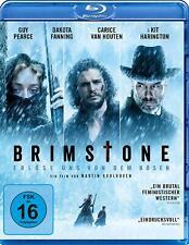 Brimstone [Blu-ray/NEU/OVP] Ein Western, wie man ihn kein zweites Mal findet. Da
