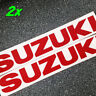 Suzuki REFLECTIVE Red 13in 33cm decal 600 sticker gsxr 1000 srad 750 moto gp sv