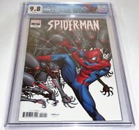 Spider-Man #1 CGC Universal Grade Comic McGuinness Variant Cover 9.8 Death MJ 🔥