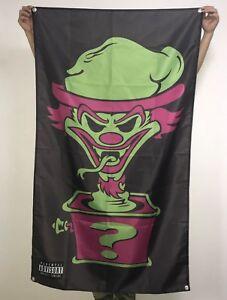 Insane Clown Posse Banner Riddle Box Flag ICP Poster Joker Card Tapestry 3x5 ft