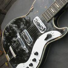 1959 Silvertone 1423 / Harmony Jupiter H49 / black sparkle / DeArmond / CTS