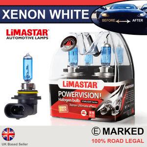 Toyota Auris Xenon White HIR2 9012 Halogen Bulbs 6000k (PAIR) - Limastar