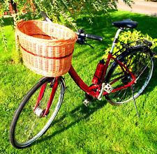 Hundefahrradkorb Hundetransporter Weidenkorb lenkerkorb Weide Katze lenker Vorne