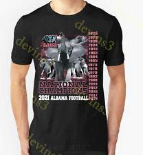 RARE Alabama Crimson Tide 2021 National Championship 18 Times Champion T Shirt