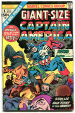 Giant Size Captain America 1 GVG 3.0 Marvel 1975 Stan Lee Jack Kirby