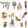 Parrot Hanging Swing Bird Toy Harness Cage Ladder Parakeet Cockatiel Budgie Toys