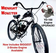 Midnight Monster - Biggest 2-Stroke (Yd-100) Motorized Bicycle Kit - D.I.Y 80cc!