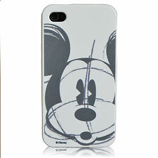 For iPhone 5 5S Mickey Mouse Sketch Disney Protector Flexible TPU Case White
