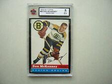 1954/55 TOPPS NHL HOCKEY CARD #35 DON MCKENNEY ROOKIE KSA 5 EX SHARP!! 54/55