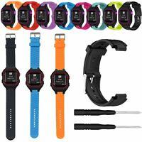 Silicone Band Wristband Sport Strap for Garmin Forerunner 25 GPS Running Watch