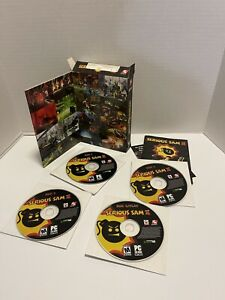 SERIOUS SAM II (2) PC CD-ROM Software - COMPLETE IN BOX