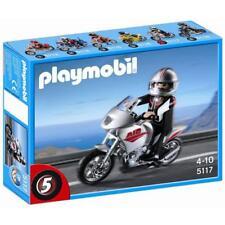 PLAYMOBIL - 5117 - moto argentée neuf jamais ouvert