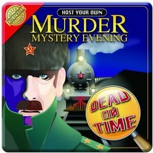 Murder Mystery Evening -  Dead On Time - Game brand new in Tin