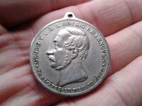 Medaille Georg V. König von Hannover Gedenken an Langensalza 1866-1891 v. JAUNER
