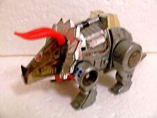 G2 vintage SILVER Slag variant near complete part lot Dinobot G1