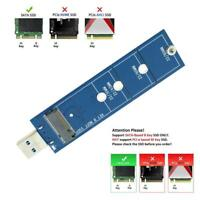 2230 2242 2260 2280 M.2 B Key NGFF SATA SSD to USB 3.0 Adapter Converter Card N/