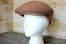 Vintage 100% WOOL Laine NEWSBOY CABBY Hat Made in France Sz 7⅛ by The Little Owl