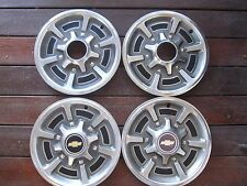 1977 to 1988 Chevrolet pickup truck van suburban hubcaps 15 inch, a set of four