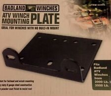 Universal ATV/Utility Winch Mounting Plate