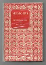 MEMOIRS by Montgomery of Alamein (Book Club HB, 1960)