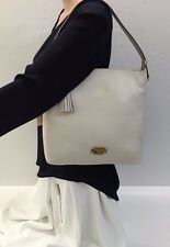 Michael Kors Shoulder Bag Medium Leather Top Zip Bedford (Vanilla)