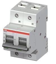 ABB solar/UPS AC/DC MCB S802B-D80 , 80amps 16kA 2 pole MCB. D Curve