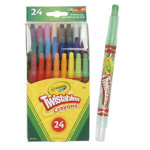 NEW 24ct Crayola Mini Twistables Crayons