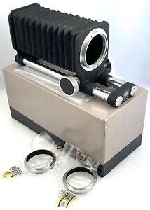 Nikon rangefinder S mount macro bellows focusing attachment new in box 99%